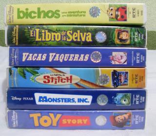 Peliculas Vhs Disney Originales Usadas C / U