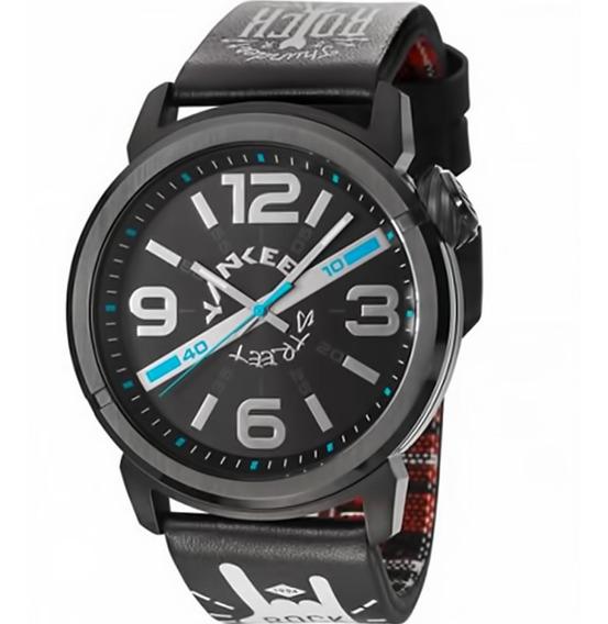 Relógio Masculino Yankee Street Ys30425p Barato Original