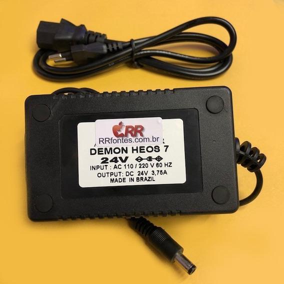 Fonte Carregador Caixa Som Denon Heos 7 Wifi Bluetooth 24v