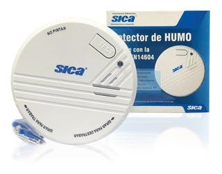 Detector De Humo Bateria 9v Alarma Sonora Sensor Sica