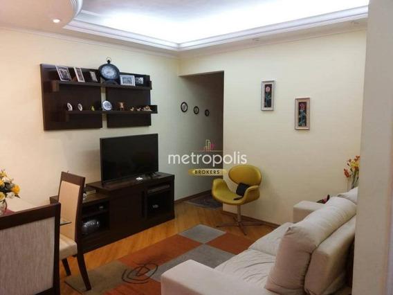 Apartamento Com 1 Dormitório À Venda, 60 M² Por R$ 285.000,00 - Cerâmica - São Caetano Do Sul/sp - Ap3335