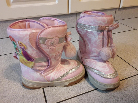 Botas Disney Princesas Originales Talle 26 - Impecables!!
