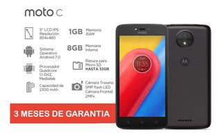 Motorola Moto C (3g) 1gb+8gb Liberado Para Todas Dual-sim