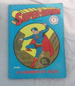 Revista Super-homem- O Homem De Aço - Coleção Invictus 2