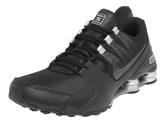 Tênis Nike Shox Avenue Preto Prata Original Tam.43