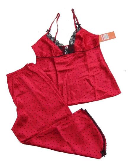Gilligan O Malley Pijama Satin Corta Chica Envio Gratis
