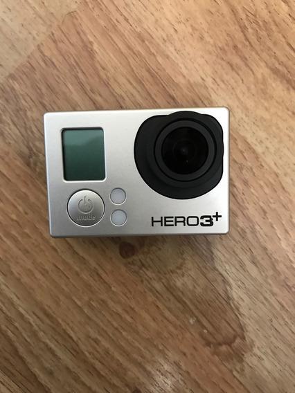 Go Pro Hero 3+ Silver + Itens