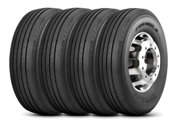 Kit 4 Pneus Pirelli 295/80r22.5 152/148m Formula Driver