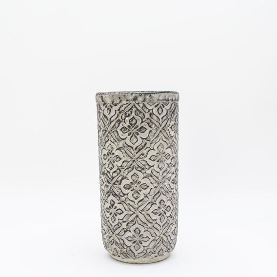 Maceta Cemento Lys Grande Decoración Morph