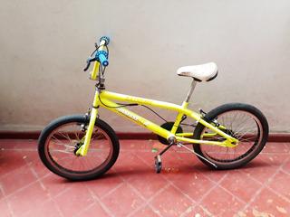 Bicicleta Freestyle Fluo Verde Siambretta