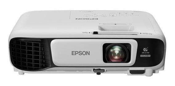 Projetor Epson U42+ 3lcd Powerlite Wxga 3600 Lumens Bivolt