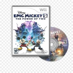 Jogo Novo Epic Mickey 2: Power Of Two - Nintendo Wii Disney