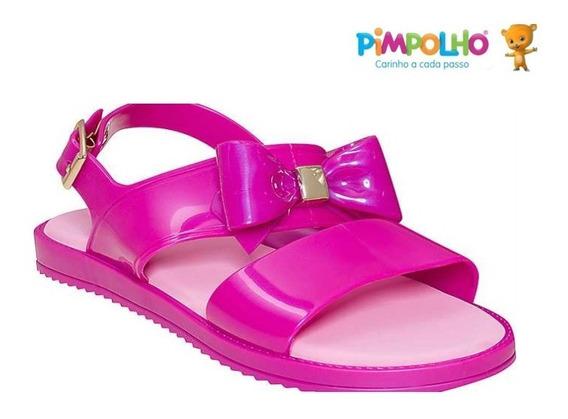 Sandália Sapato Feminina Infantil Colorê Pimpolho