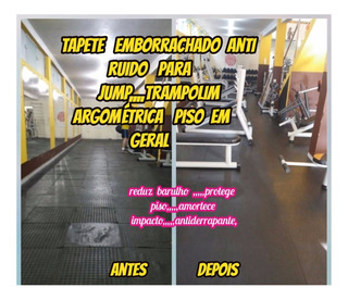 Lençol De Borracha 3mm-10.00x1.00mts P/academia Forrar Piso