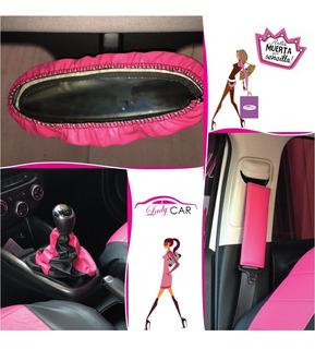 Accesorios Auto- Kit Cituron,palanca, Espejo Mujer- Ladycar.