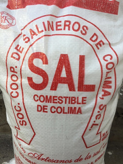Sal Marina Artesanal De Cuyutlán Colima Comestible 10 Kg