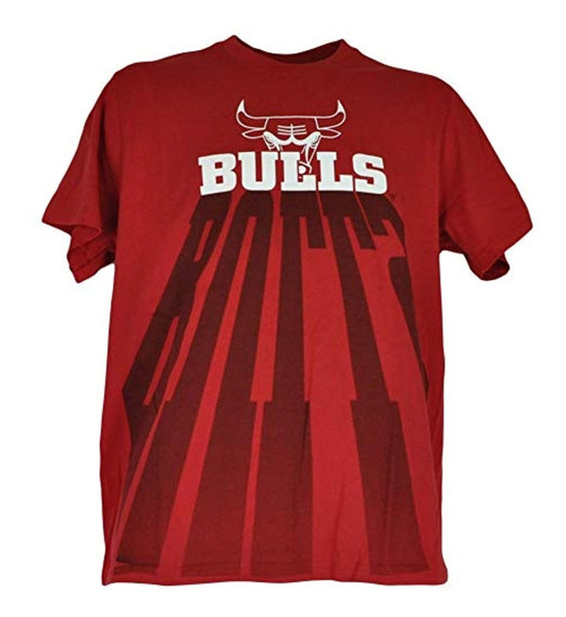 Unk Camiseta Chicago Bulls Shadow Letters Red Xx-large