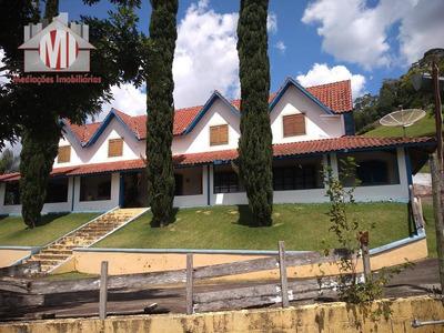 Chácara Com 5 Dormitórios À Venda, 9000 M² Por R$ 680.000 - Rural - Socorro/sp - Ch0359