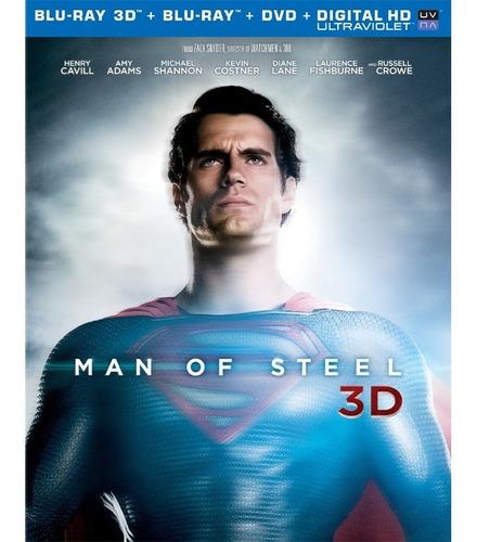 Blu-ray  O Homem De Aço | 3d
