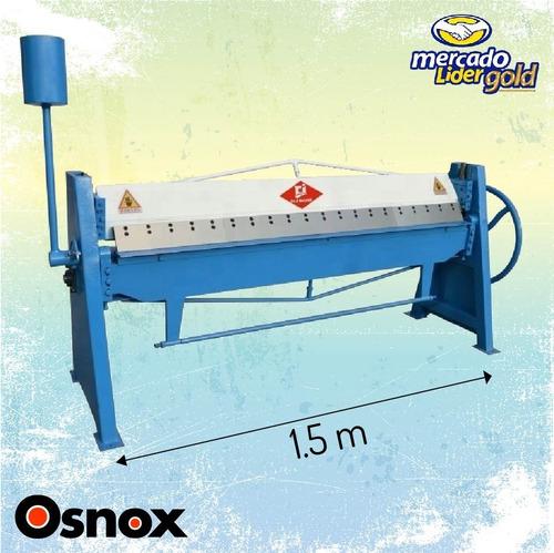 Imagen 1 de 6 de Dobladora Tool Maquinas Plancha Lamina Tol Manual Industrial