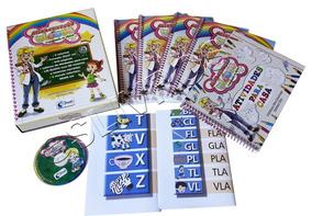 Coleção Alfabetização Blocos Sílabas +curso Inglês Crianças