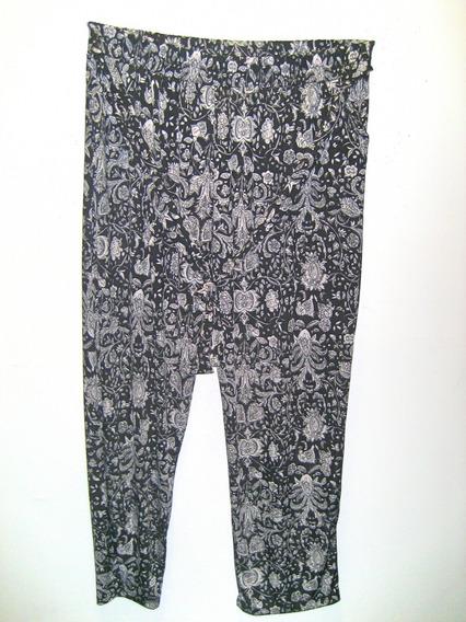Pantalones De Seda Fria Estampados Talles Grandes