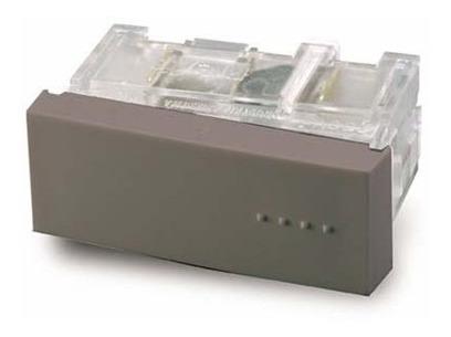 Imagen 1 de 4 de Cambre Módulo Combinación Tecla Simple Gris Bauhaus 6111