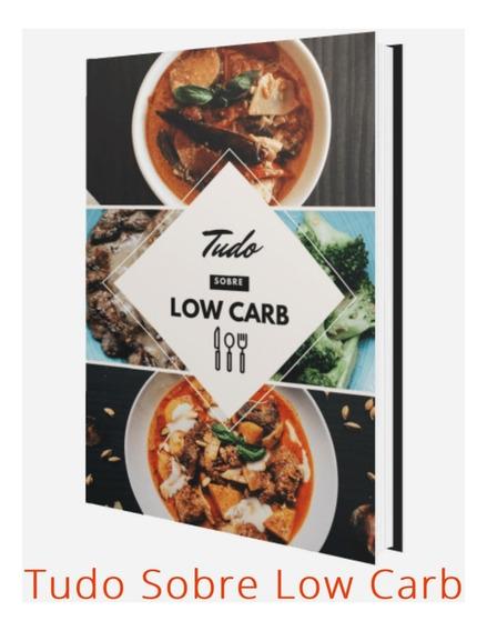 Promoção Livro Tudo Sobre Low Carb