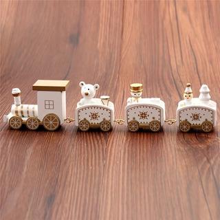 Tren Madera Juguete Para Árbol De Navidad Adorno Navideño