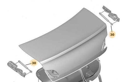 Amortiguador A Gas Para Baul Peugeot 408 2.0