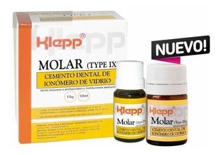 Cemento Dental De Ionómero De Vidrio Klepp - Tipo 9