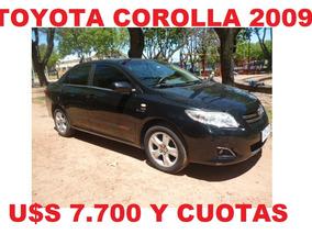 Toyota Corolla 2009 Impecable Estado!!!!