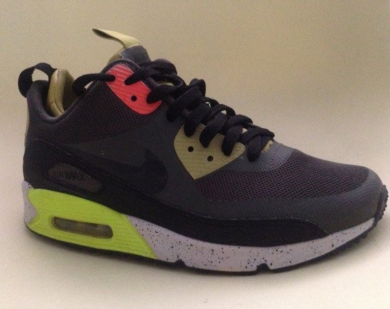 Tenis Nike Air Max90 Mid No Sew 616314-007 Zapato Deportiva