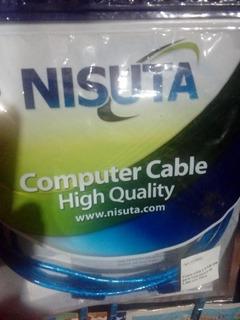 Cable Usb 2.0 Para Impresora Con Filtro Nisuta