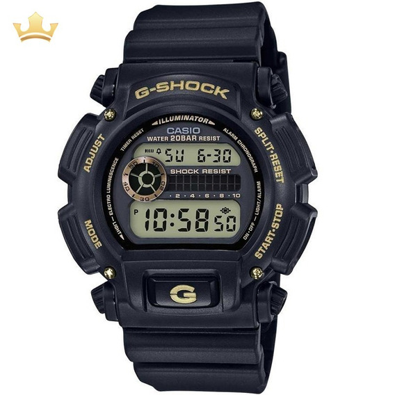 Relógio Casio G-shock Masculino Dw-9052gbx-1a9dr Com Nf