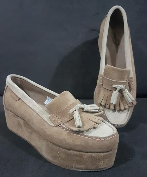 Zapatos Cardón Cuero, Sin Uso!!