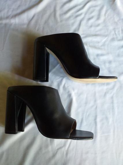Impecables Sandalias Negras Zara