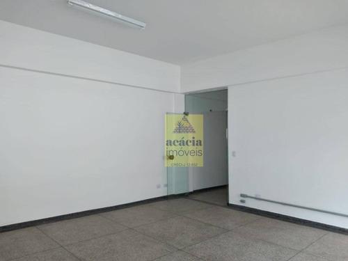 Sala Para Alugar, 112 M² Por R$ 3.500,00/mês - Vila Mangalot - São Paulo/sp - Sa0192