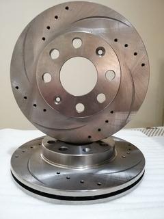 Discos Perforados/ Pastillas Freno Chevrolet Sail 1.4