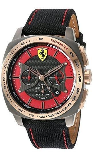 Relógio Ferrari Aero Evo Quartz Resina E Nylon Watch