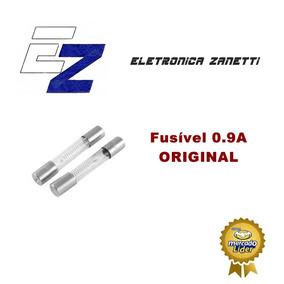 06 X Fusível Fmo 5kv 900ma 5kv 0.9a Vidro, Pronta Entrega
