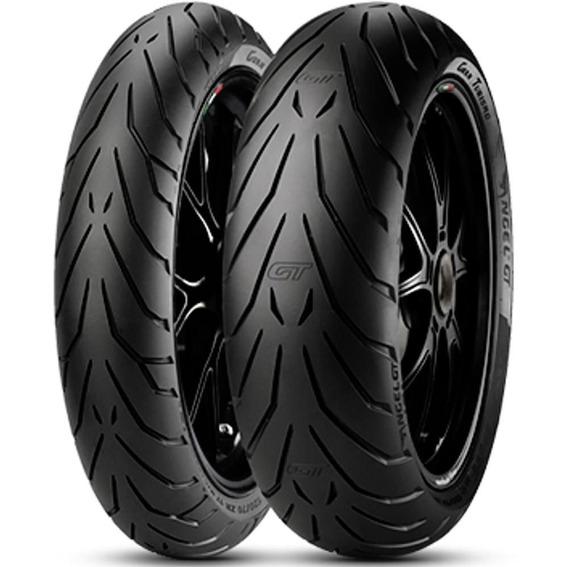 Par Pneu Tdm 900 120/70r18 + 160/60r17 Tl Angel Gt Pirelli