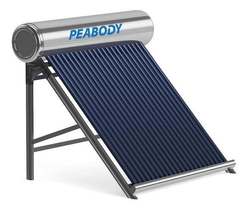 Imagen 1 de 10 de Peabody Termotanque Solar 200 L Todo Acero Anodo + Kit Electrico + Garantia Oficial Peabody