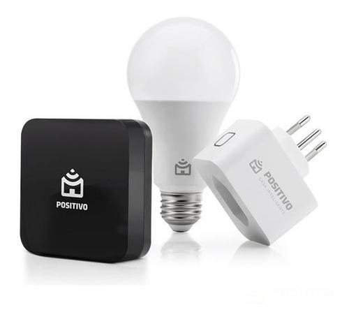 Kit Casa Conectada Positivo Controle I Lâmpada Plug-11140161