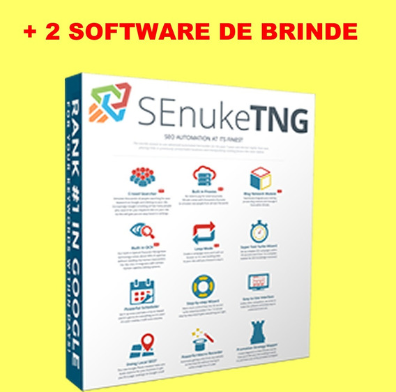 Senuke Tng 5 64 Bit Seo Crie Backlink De Qualidade Para Seo