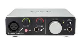 Interface Focusrite De Aúdio Usb Itrack Solo