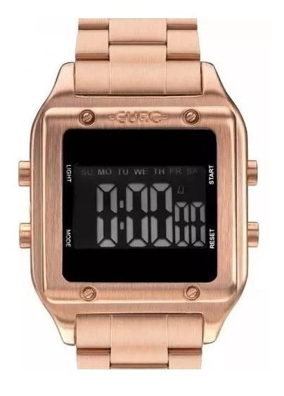 Relógio Euro Digital Rose Quadrado Eug2510ad/4j Sabrina Sato
