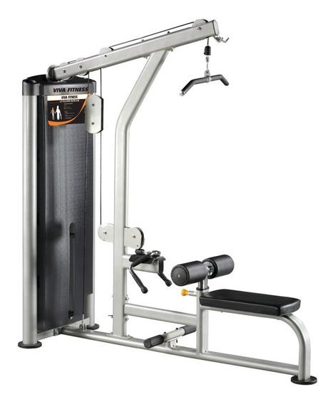 Gym Peso Integrado 2 En 1 Jalón De Espalda Y Remo Polea