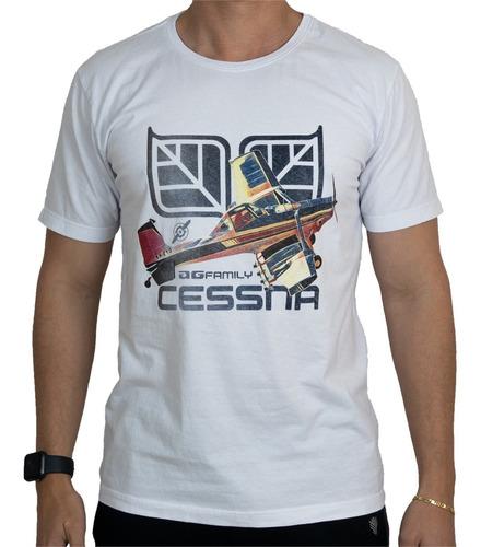 Imagem 1 de 3 de Camiseta Cessna 188 Tudonivelado