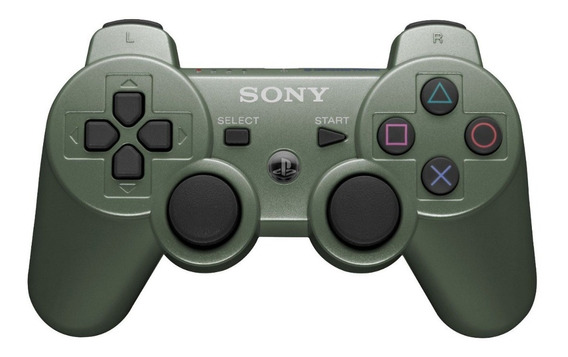 Controle Ps3 Verde - Dualshock 3 Jungle Green- Original Sony